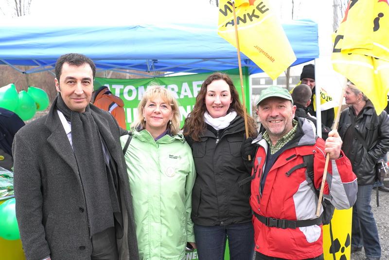 Großdemonstration gegen Atomkraft