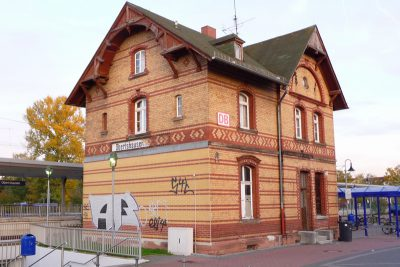 Bahnhofsgebäude Obertshausen
