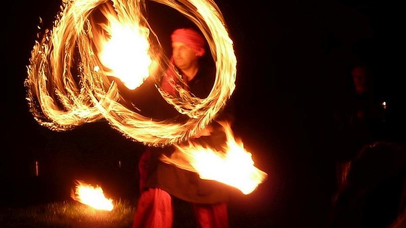 Burning Dragons beim Schwedenfeuer