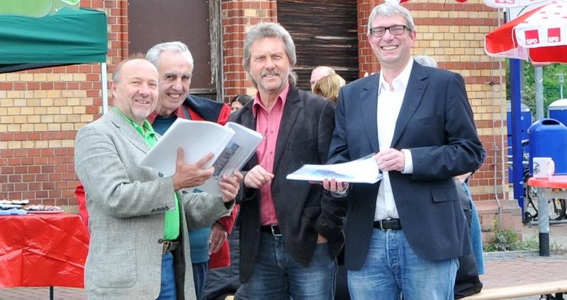 Bahnhofsfest 2013: Rot-Grün schiebt Kooperation an