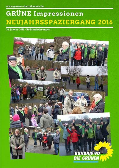 Grüne Impressionen - Neujahrsspaziergang 2016