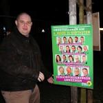 Wahlkampfhelfer Wahlplakate: Paul Buhr - Listenplatz 10