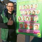 Wahlkampfhelfer Wahlplakate: Tobias Koch - Listenplatz 12