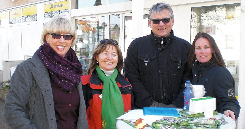 Wahlstand Hasen 27.02.2016