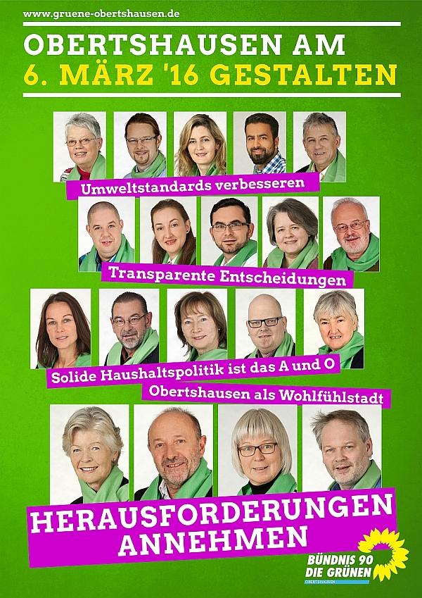 A1 Wahlplakat für die Kommunalwahl 2016
