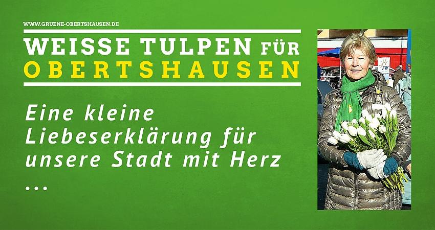 Weisse Tulpen - eine kleine Liebeserklärung an unsere Stadt mit Herz ...