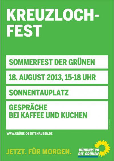 Einladung zum Kreuzlochfest 2013