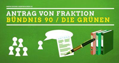 Antrag der Fraktion Bündnis 90 / Die Grünen Obertshausen