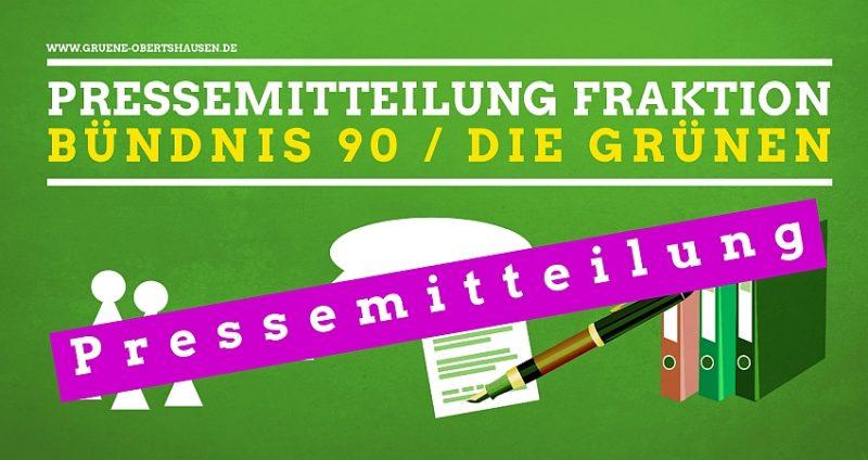 Pressemitteilung Fraktion Bündnis 90 / DIE GRÜNEN