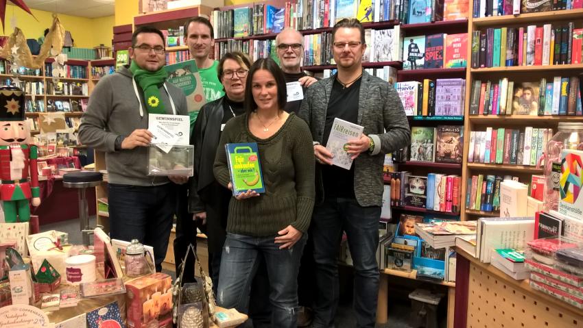Bücherverlosung zum Thema Fairtrade