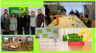 GRÜNER Ideen-Workshop 2018