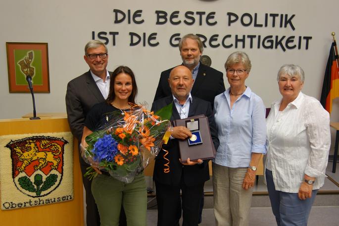 Der erste Grüne wird Stadtältester in Obertshausen