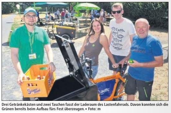 Zweiräder im Fokus – Grüne feiern Sommerfest im Kreuzloch