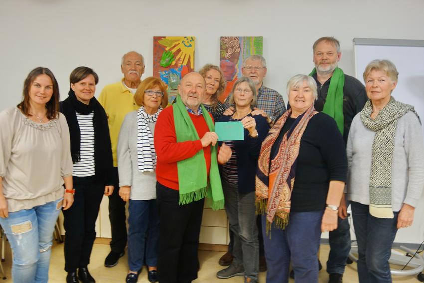 Grüne Spendengelder fließen in WLAN für Heimbewohner