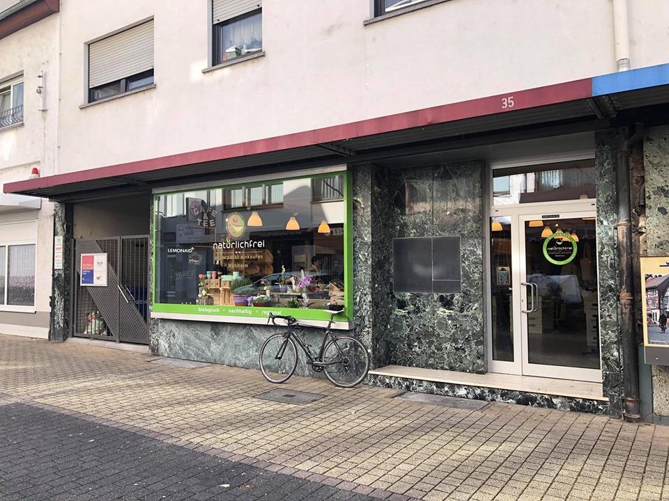"""Radtour zum Unverpacktladen """"natürlichfrei"""" nach Mühlheim am 25. Mai 2019"""