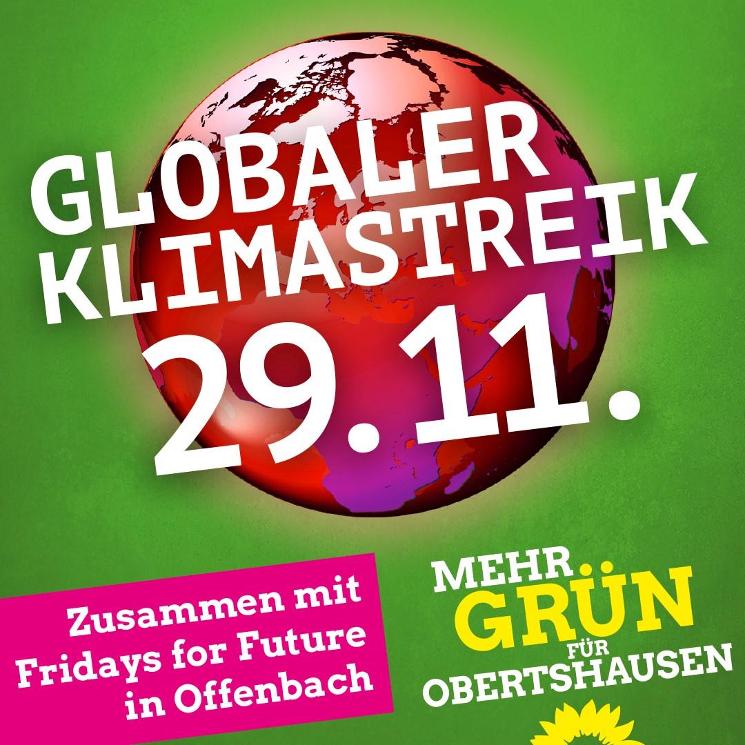 Aufruf zur Teilnahme am globalen Klimastreik