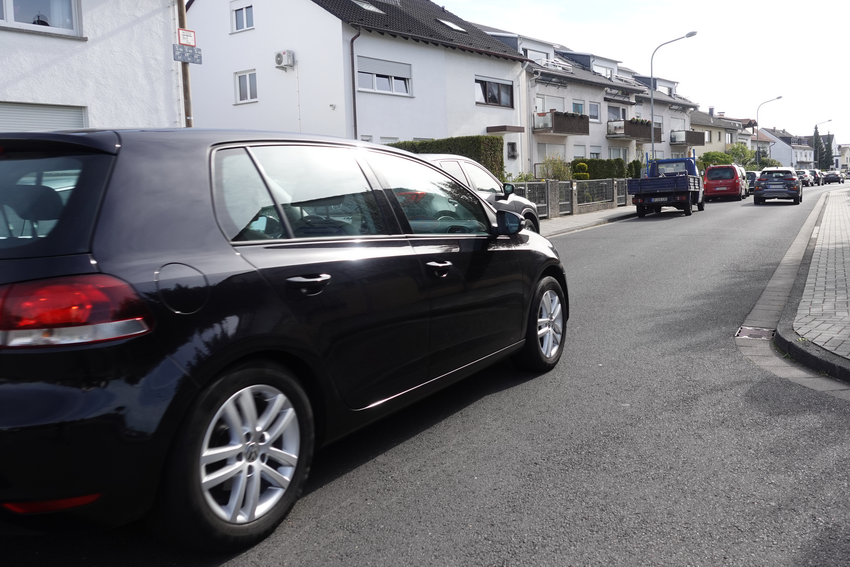 Anfrage: Schleichweg Marienstraße