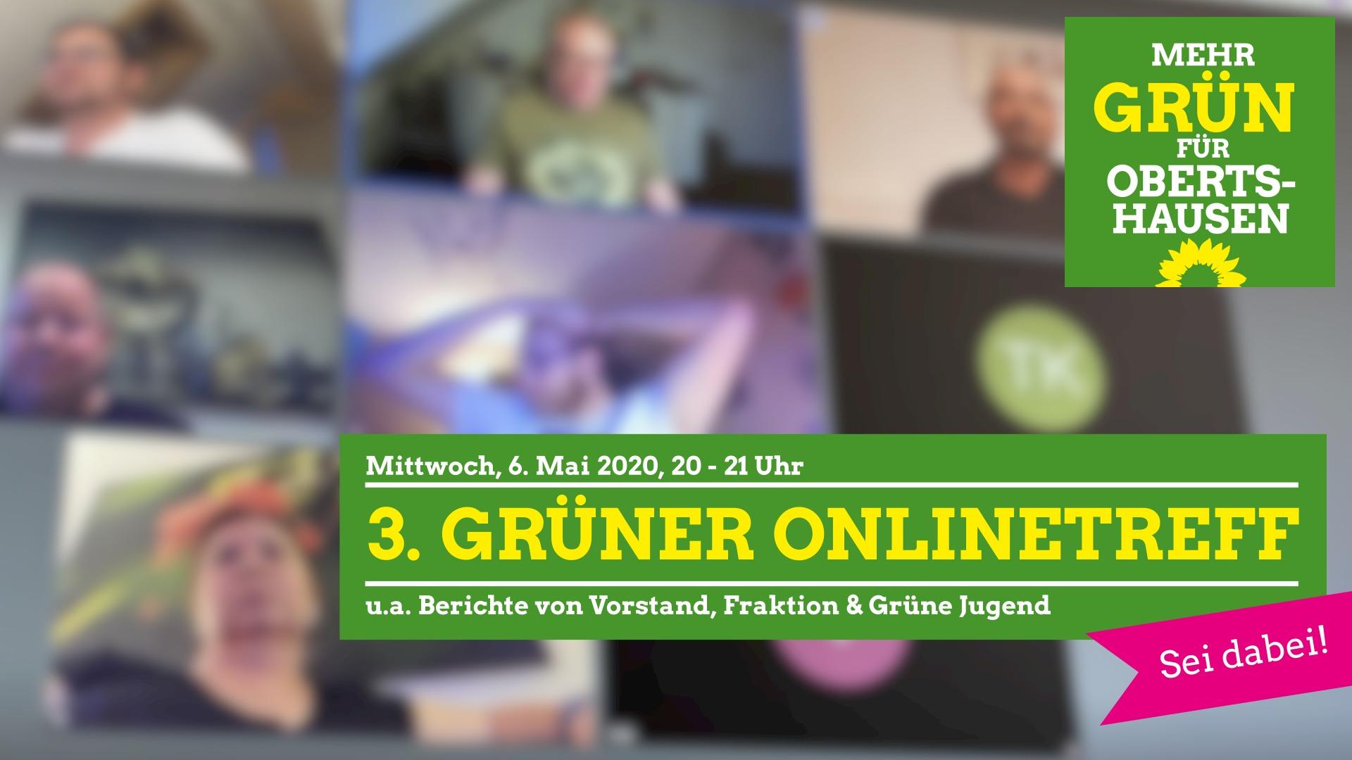 3. GRÜNER Onlinetreff