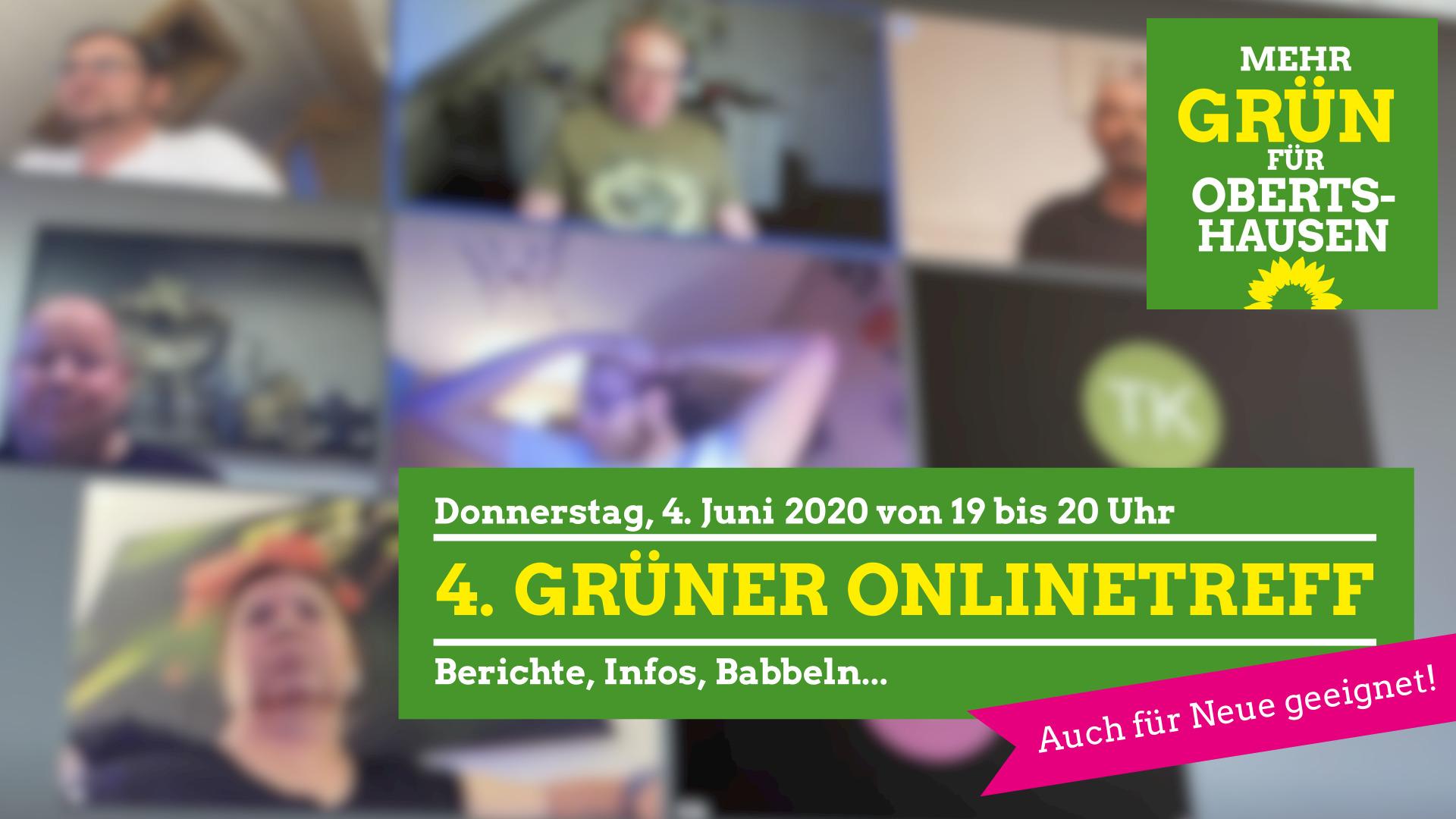 4. GRÜNER Onlinetreff