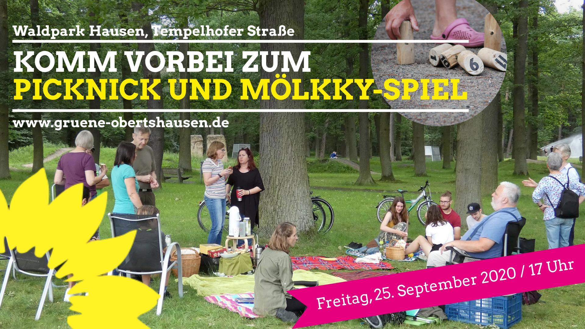 """Komm zum Picknick & Mölkky-Spiel"""
