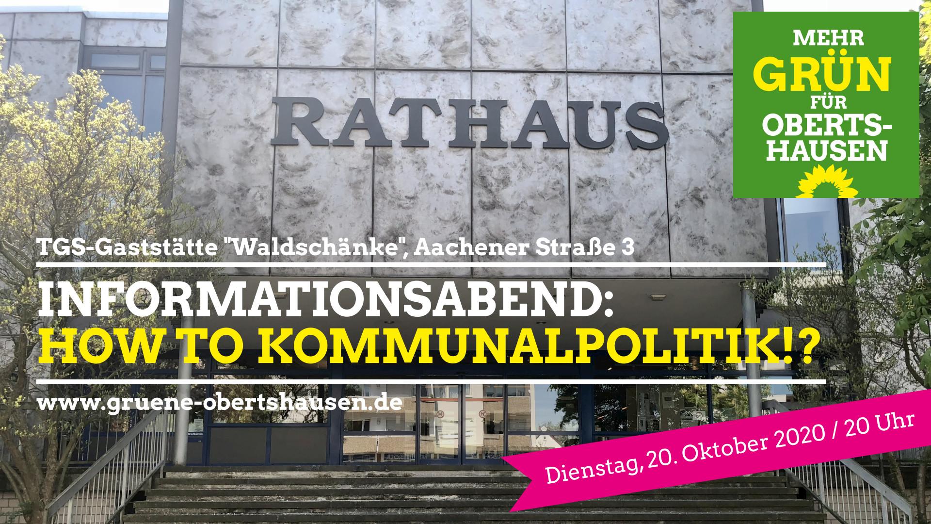 """Weitere Stammtische im Angebot: """"How to Kommunalparlament!?"""""""