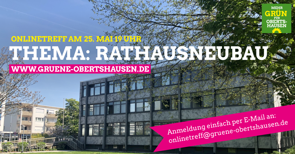 Onlinetreff zum Thema Rathausneubau