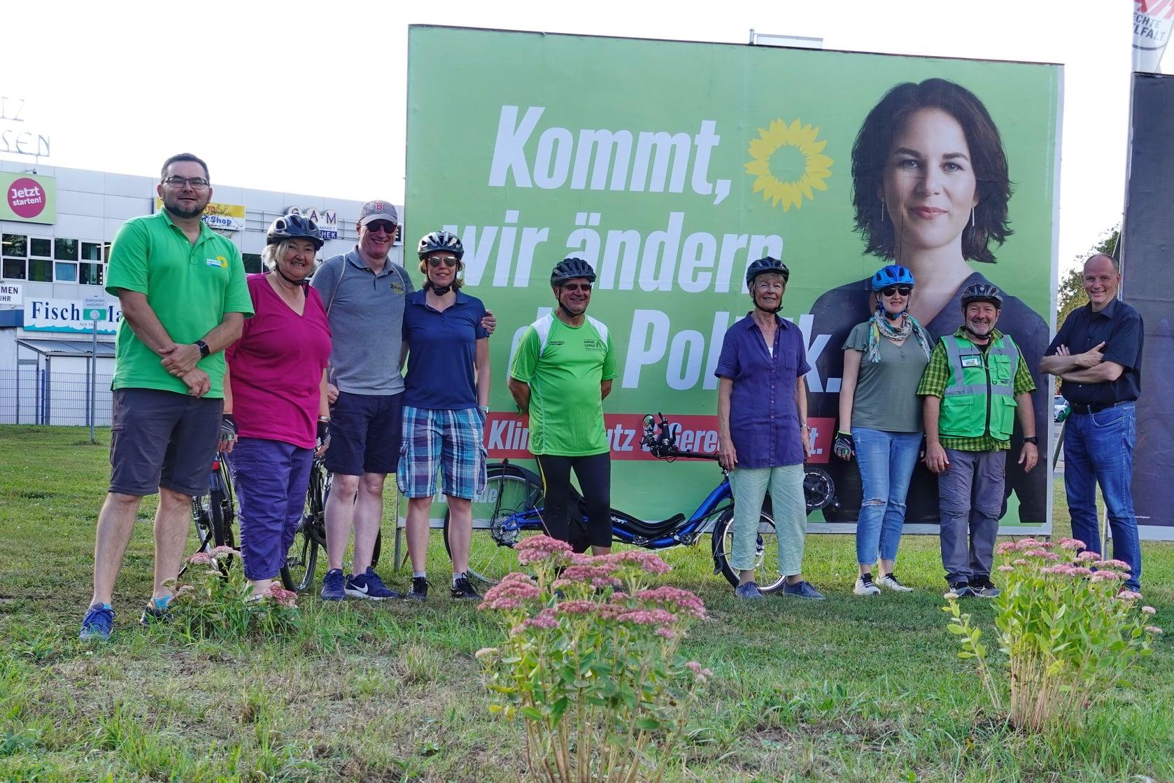Politische Radtour Obertshausen