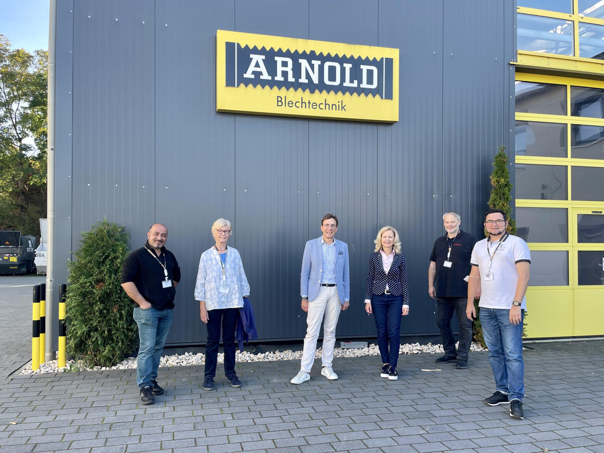 Grüne Fraktion besucht Firma Arno Arnold